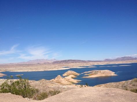 Beautiful but desolate Lake Mead