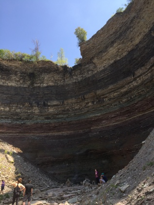 View from the bottom - Devil's Punchbowl